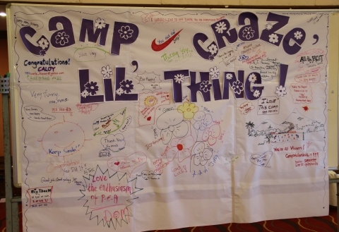 ENGLISH THROUGH SOCIAL ACTIVITIES IN A LANGUAGE CAMP