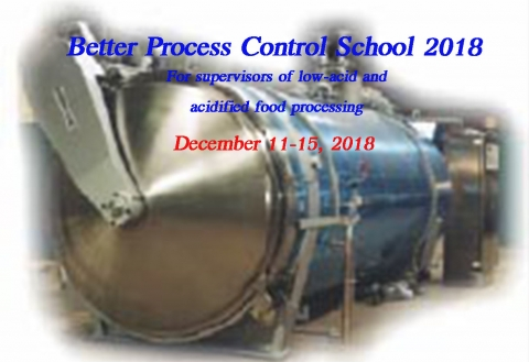 **NEW** Better Process Control School 2018